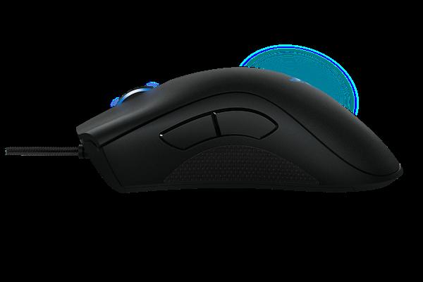 Mouse Razer Deathadder Blue Classic - 6400 DPI