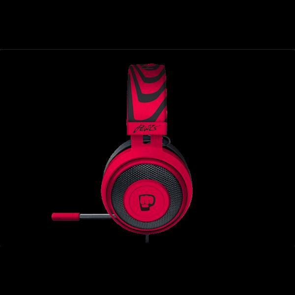 Headset Razer Kraken Pro V2 PewDiePie Neon Red