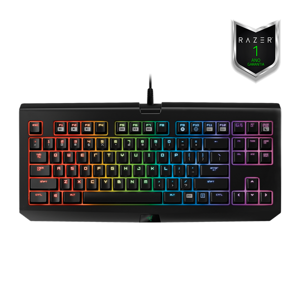 Teclado Razer Blackwidow Tournament Chroma Stealth - PC