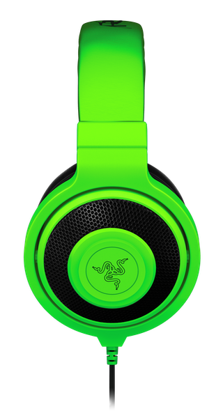 Headset Razer Kraken Pro Green Com Microfone 2015 - Open box