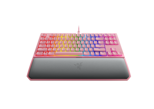 Teclado Razer Blackwidow Tournament Chroma v2 Quartz Pink