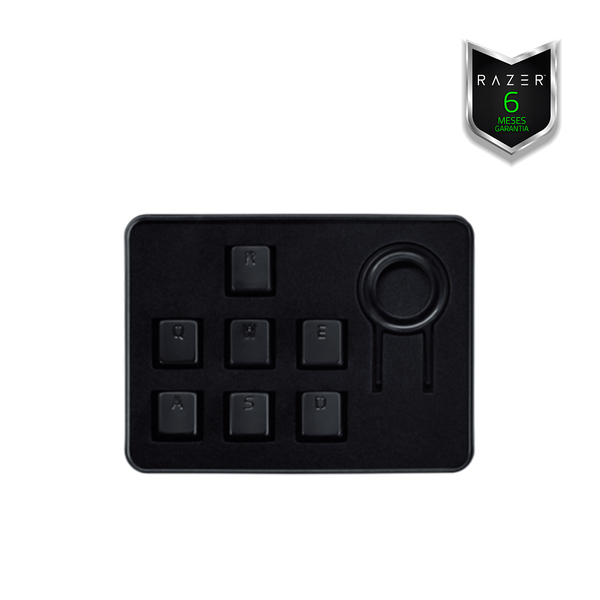 Teclado Razer Metal Key Cap Set Blackwidow Teclas Metálicas Original