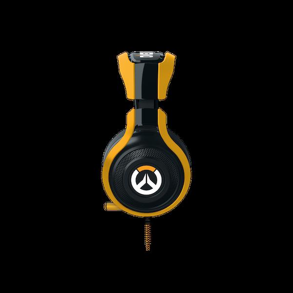 Headset Razer Man O'War Tournament Overwatch Com Mic (Ps4, Pc E Mac)